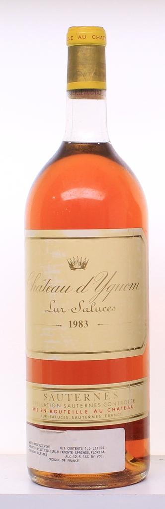 Wine Chateau d'Yquem 1983 1.5L