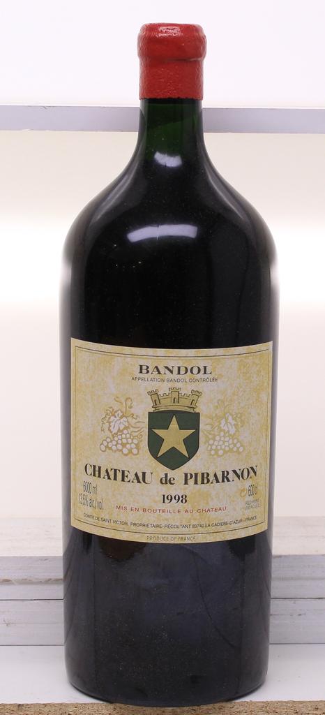 Wine Ch de Pibarnon Bandol Rouge 1998 6L