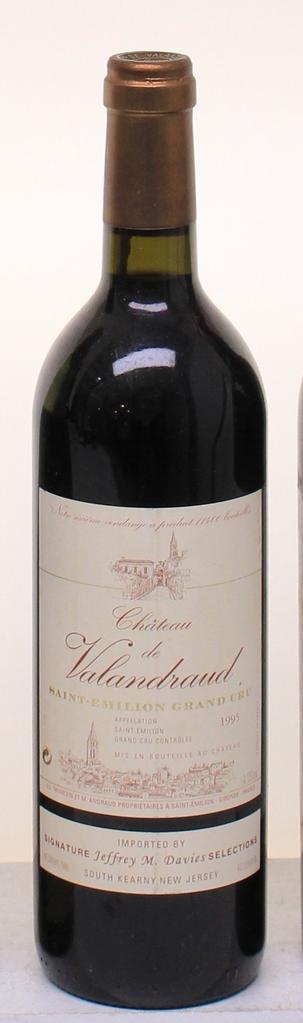 Wine Chateau de Valandraud Saint Emilion 1995