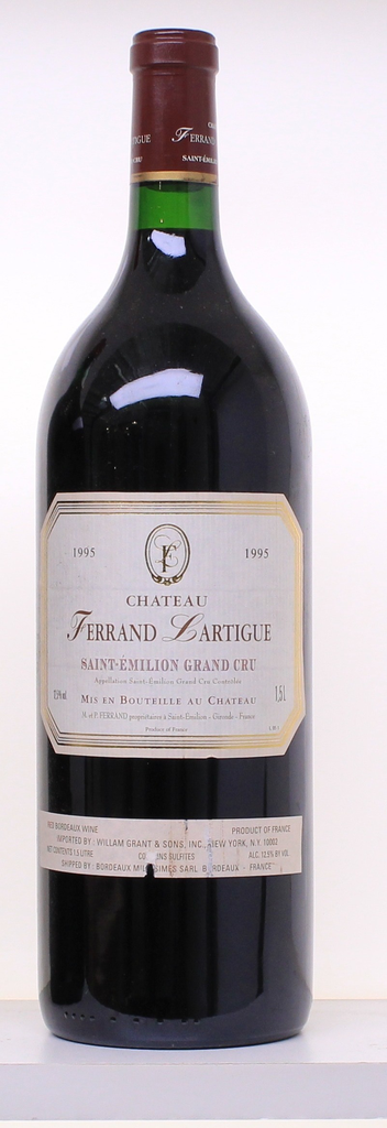 Wine Chateau Ferrand Lartigue St Emilion 1995 1.5L