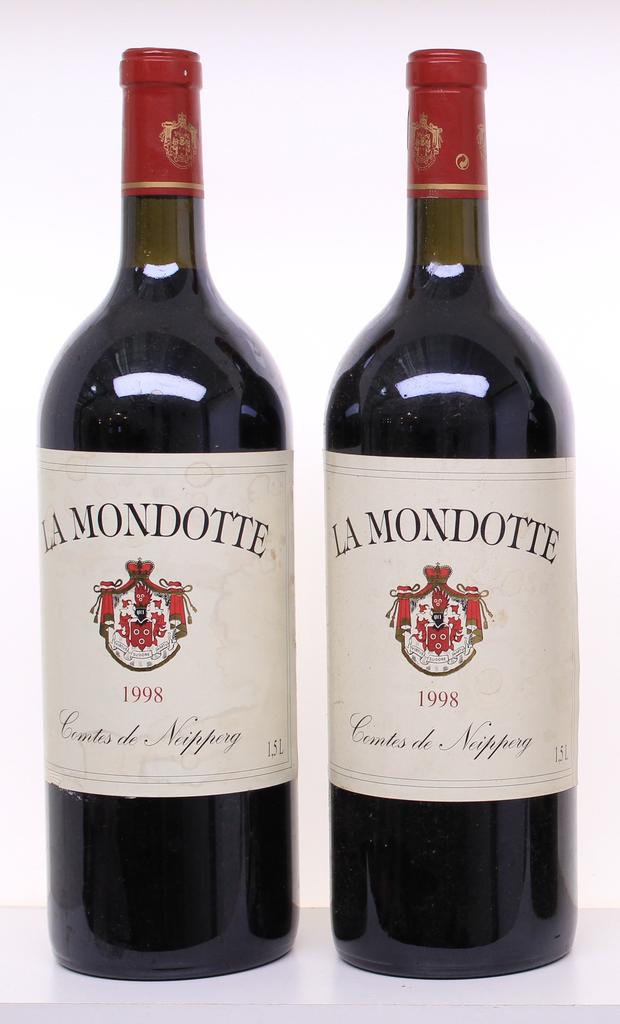 Wine Chateau La Mondotte 1998 1.5L