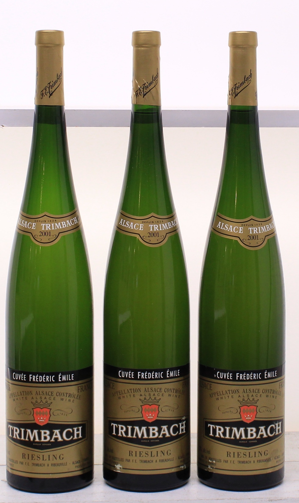 Wine Trimbach Riesling Cuvee Frederic Emile 2001 1.5L