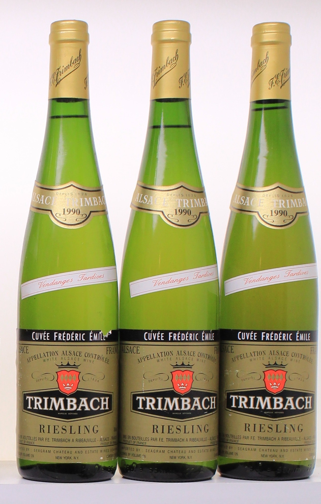 Wine Trimbach Riesling Cuvee Frederic Emile 1990