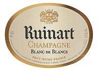 Sparkling Ruinart Champagne Blanc de Blancs Gift Box