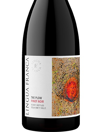 Wine Lingua Franca Pinot Noir The Plow Eola Amity Hills 2017