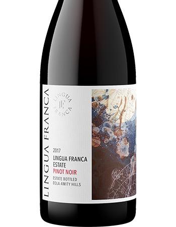 Wine Lingua Franca Pinot Noir Estate Bottled Eola Amity Hills 2017
