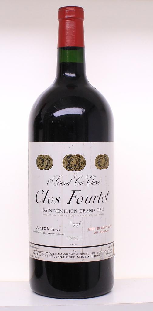 Wine Clos Fourtet Saint Emilion 1996 3L
