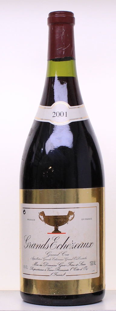 Wine Gros Frere et Soeur Grands Echezeaux Grand Cru 2001 1.5L