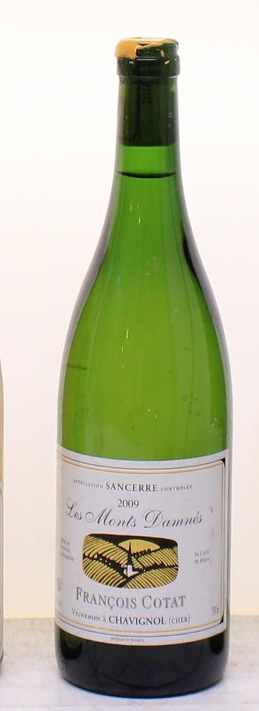 Wine Cotat 'Les Monts Damnes' Sancerre 2009