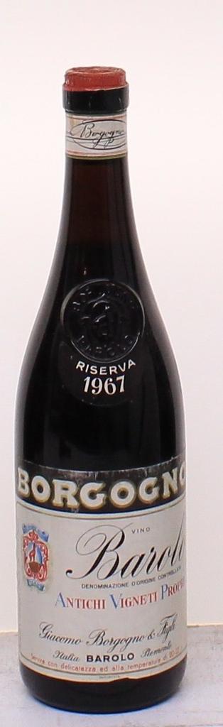 Wine Giacomo Borgogno Barolo Riserva 1967