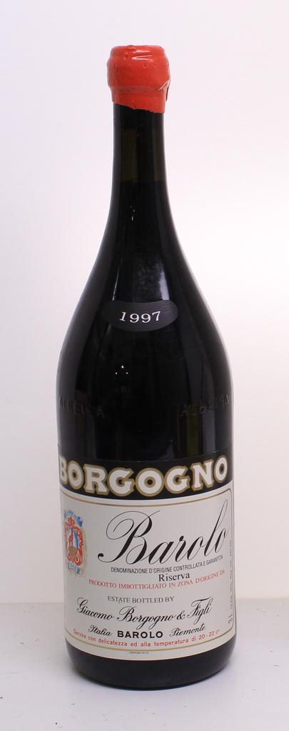 Wine Borgogno Barolo 1997 3L