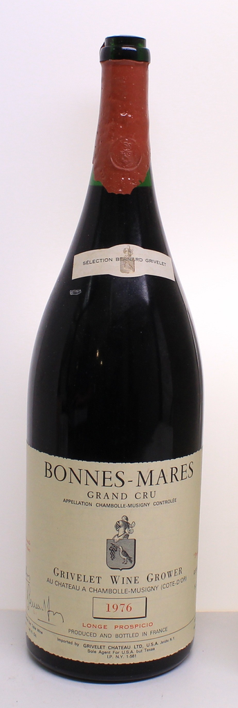 Wine Grivelet Bonnes Mares Grand Cru 1976 4.5L