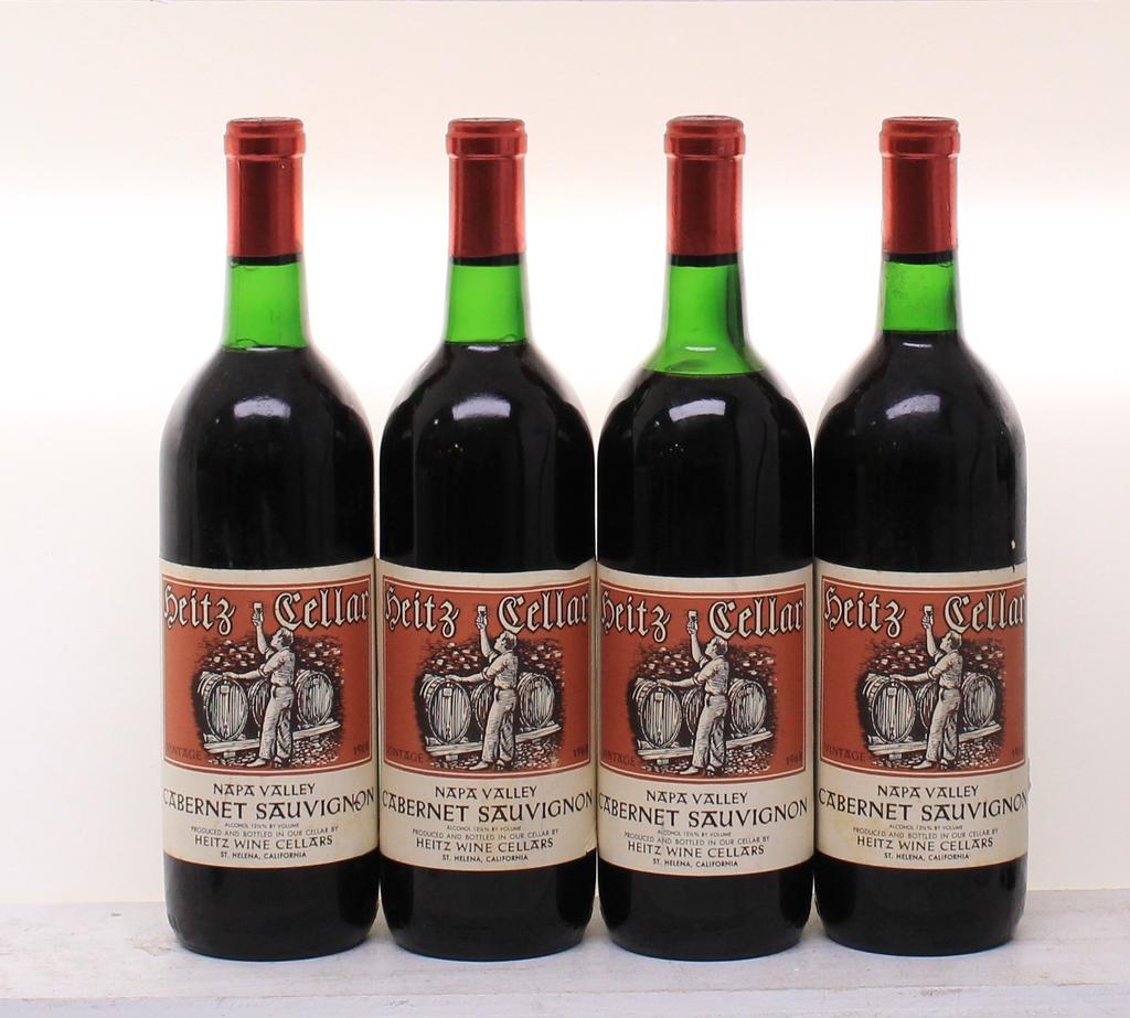 Wine Heitz Cabernet Sauvignon Napa Valley 1968