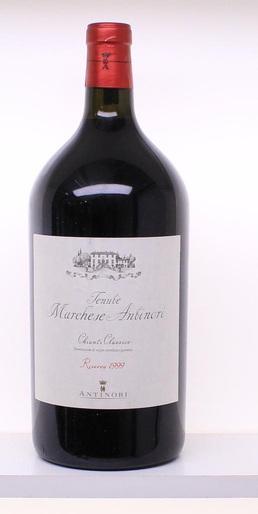 Wine Marchesi Antinori Chianti Classico Riserva 1999 3L owc