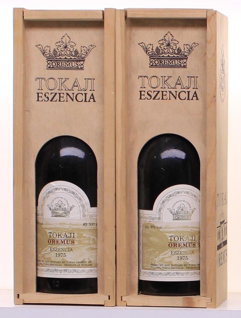 Wine Oremus Tokaji Eszencia 1975 500ml
