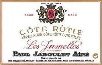 Wine Jaboulet Cote Rotie Les Jumelles 1961