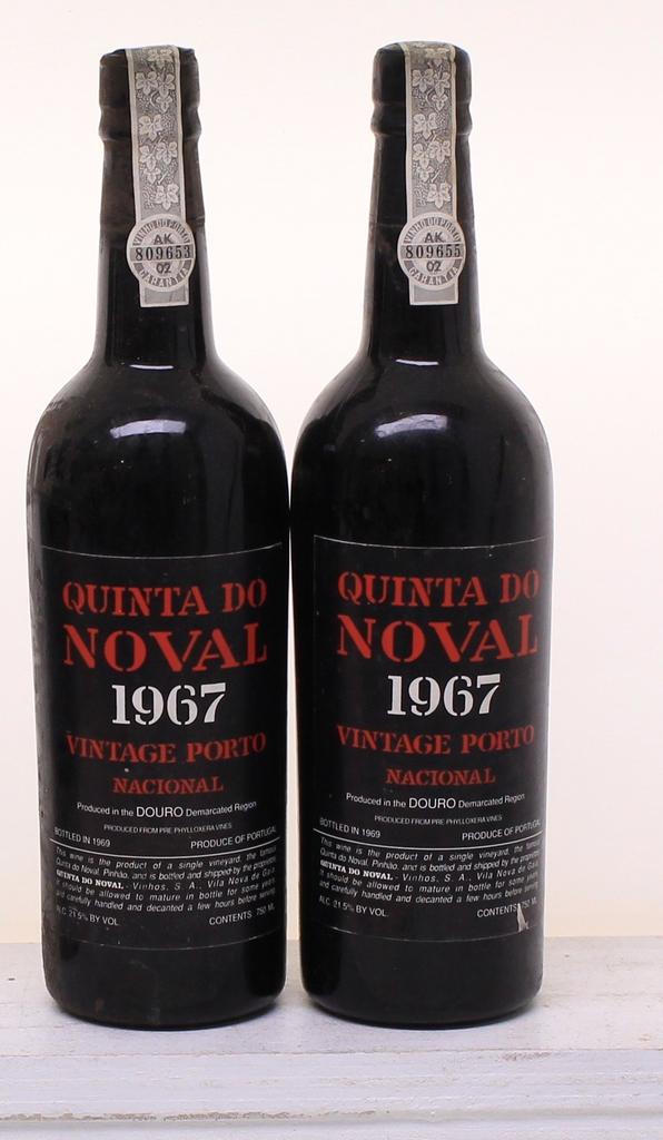 Wine Quinta do Noval Nacional Porto 1967