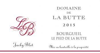 Wine Domaine de la Butte Bourgueil Le Haut de la Butte 2018