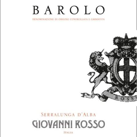 Wine Giovanni Rosso Barolo 2015