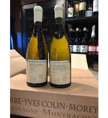 """Wine Pierre-Yves Colin-Morey Chassagne Montrachet Abbaye de Morgeot Premier Cru """"Clement & Emma"""" 2017"""