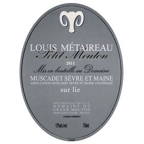 Wine Louis Metaireau Muscadet 'Petit Mouton' 2018