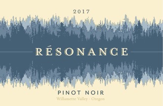 Wine Resonance Pinot Noir Willamette Valley 2017