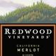 Wine Redwood Vineyards Merlot 2015