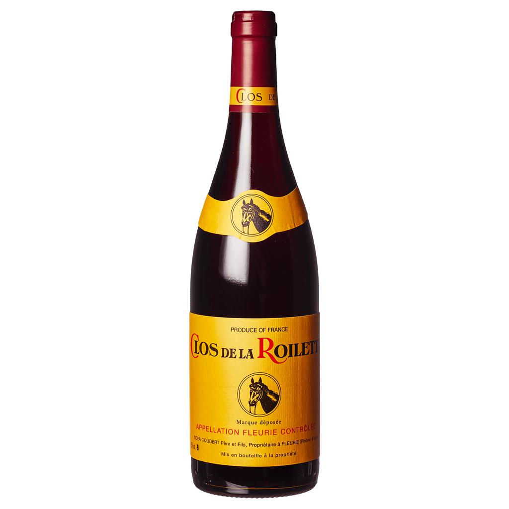 Wine Clos de la Roilette Fleurie Beaujolais 2018