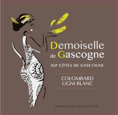 Wine Domaine de Menard Cotes de Gascogne Demoiselle de Gascogne 2018