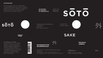Sake Soto Junmai Sake Cans 180ml