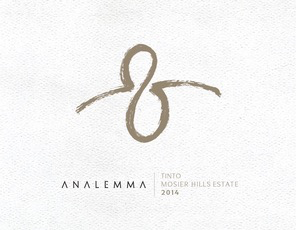 Wine Analemma Tinto Mosier Hills Estate 2016
