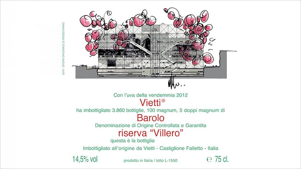 Wine Vietti Barolo Villero Riserva 2012