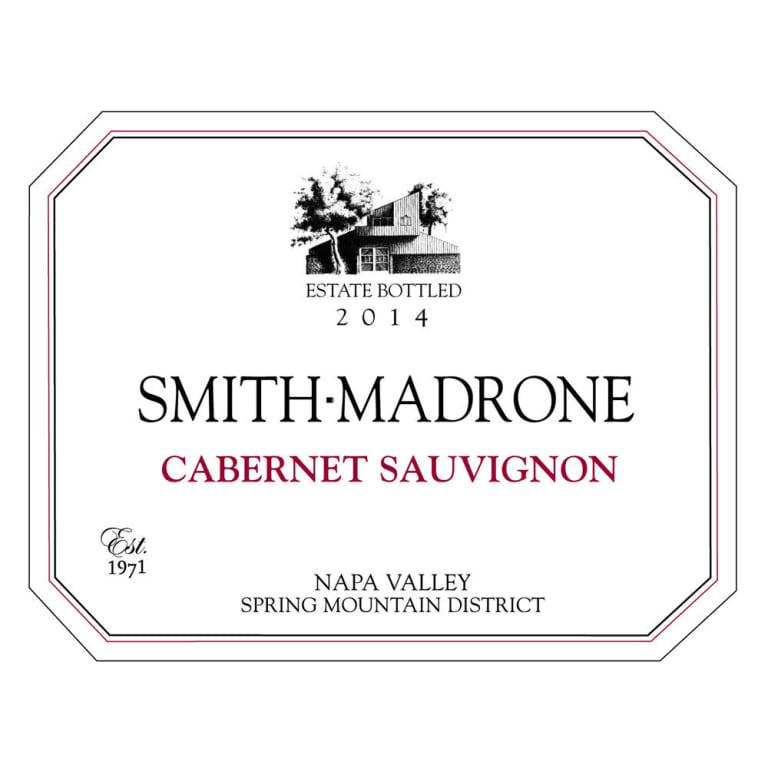 Wine Smith Madrone Cabernet Sauvignon Napa Valley 2015