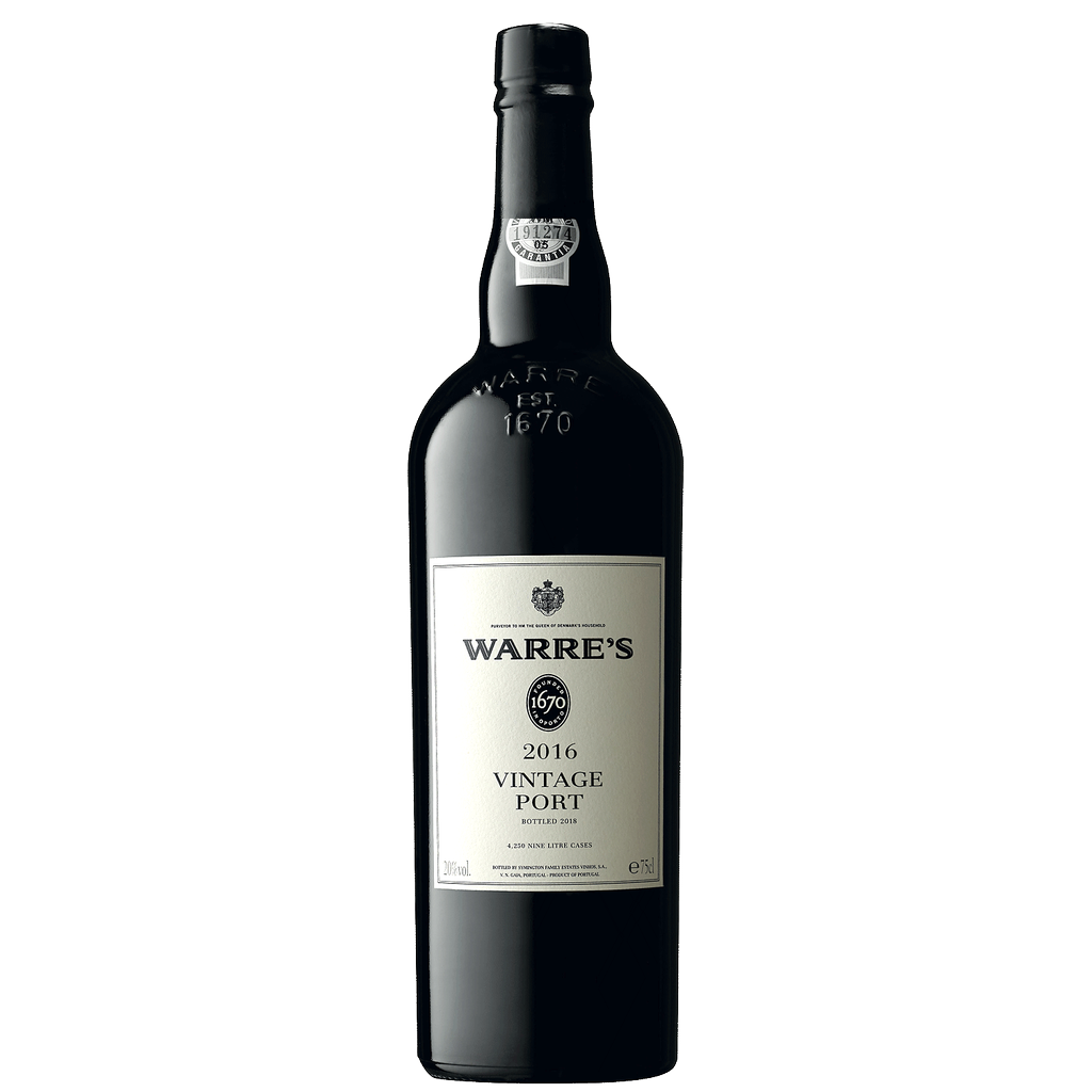 Wine Warre's Port VIntage 2016