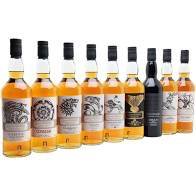 Spirits Game of Thrones Single Malt Whisky Collection Complete 9 Bottle Set