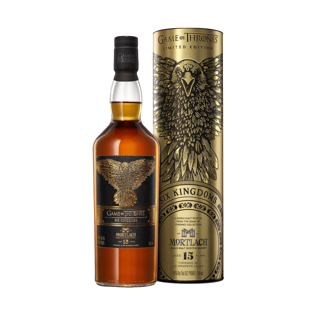 Spirits Game of Thrones Mortlach 15 Year Six Kingdoms Single Malt Scotch Whisky Limited Edition