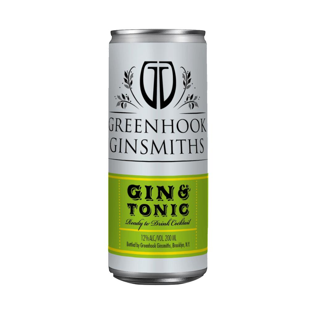 Spirits Greenhook Ginsmiths Gin & Tonic Can 200ml