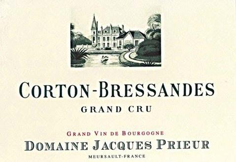 Wine Jacques Prieur Corton-Bressandes Grand Cru 2011