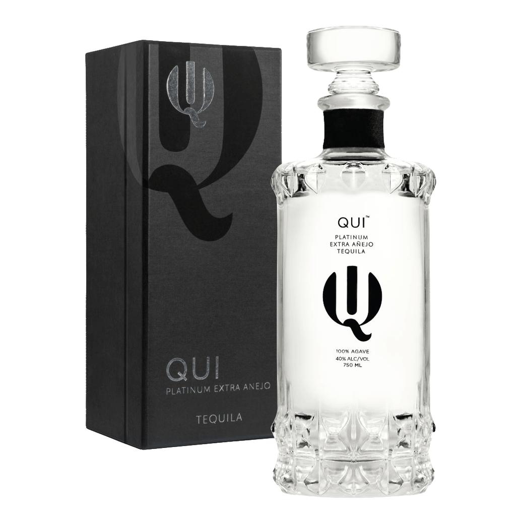 Spirits Qui Tequila Platinum Extra Anejo