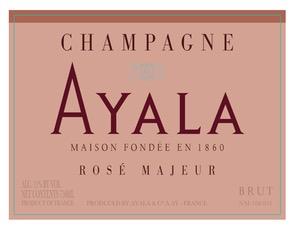 Sparkling Ayala Champagne Brut Majeur Rose 375ml