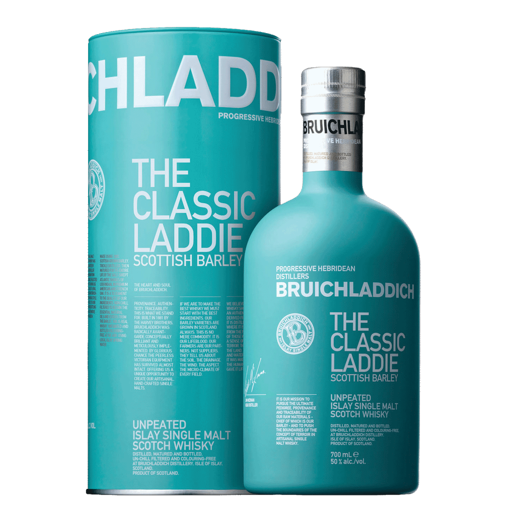 Spirits Bruichladdich Scotch Single Malt The Laddie Scottish Barley