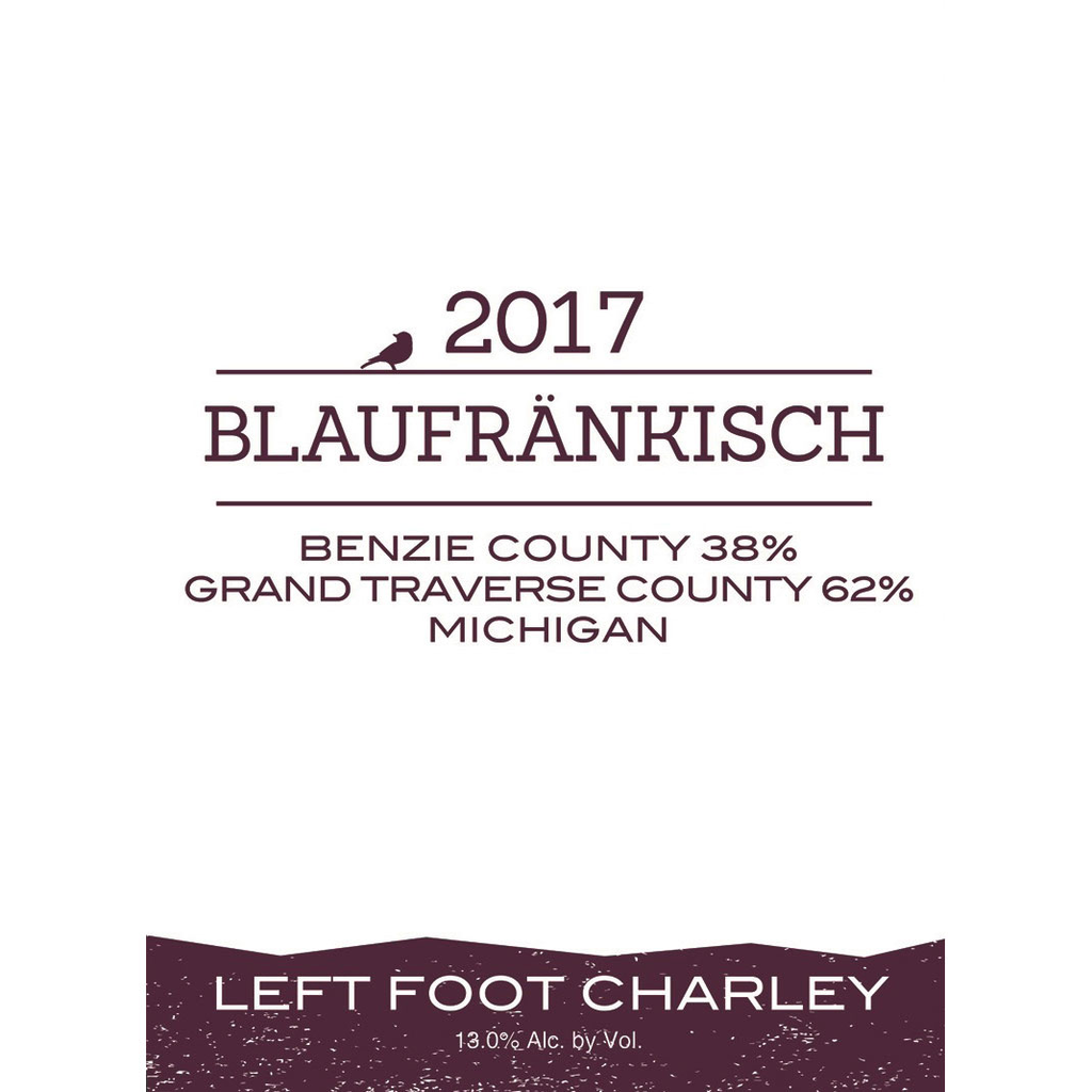 Wine Left Foot Charley Blaufrankisch 2018