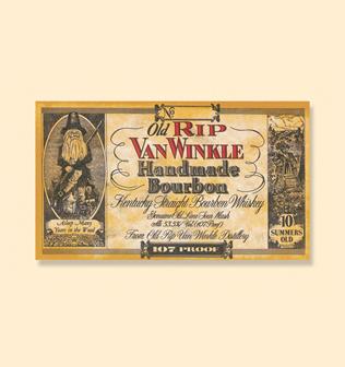 Spirits Pappy Old Rip Van Winkle 10 Yr Bourbon