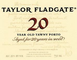 Wine Taylor Fladgate Porto 20 Year Old Tawny