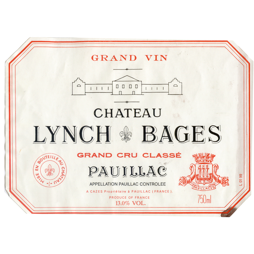 Wine Ch. Lynch Bages 2000
