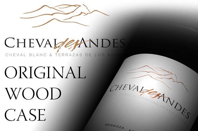 Wine Cheval des Andes Mendoza 2016