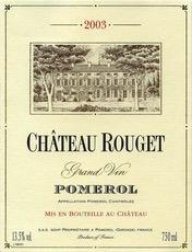 Wine Ch. Rouget Pomerol 2013