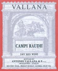Wine Antonio Vallana e Figlio Campi Raudii VDT