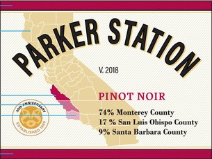 Wine Parker Station Pinot Noir 2018