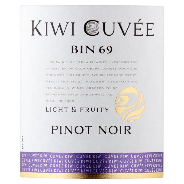 Wine Kiwi Pinot Noir Cuvee Bin 69 2018